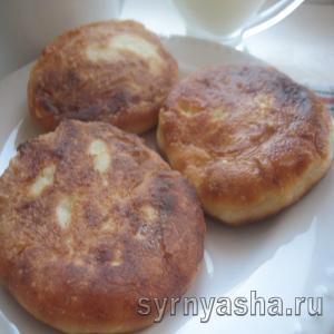 Нежные сырники без манки, разрыхлителя и соды