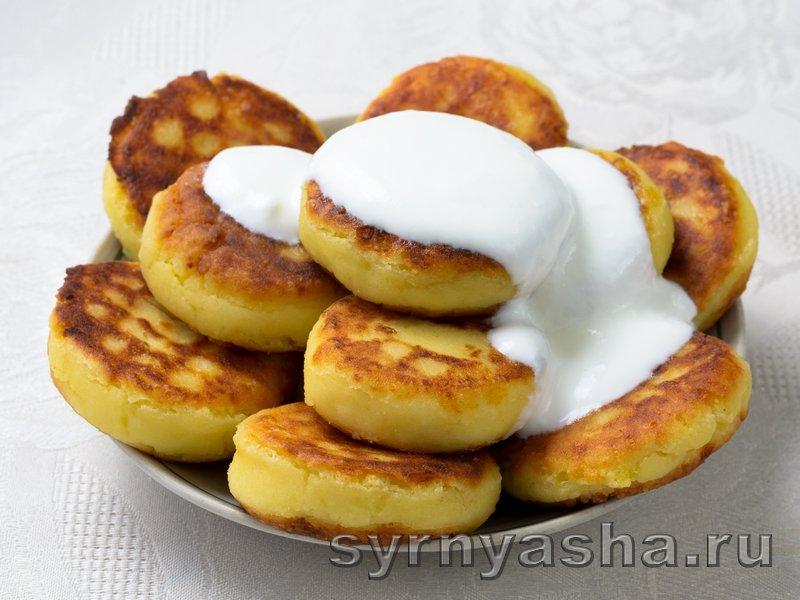 Сырники из творога с картошкой: фото 4