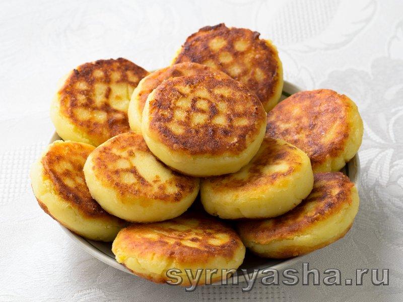 Сырники из творога с картошкой