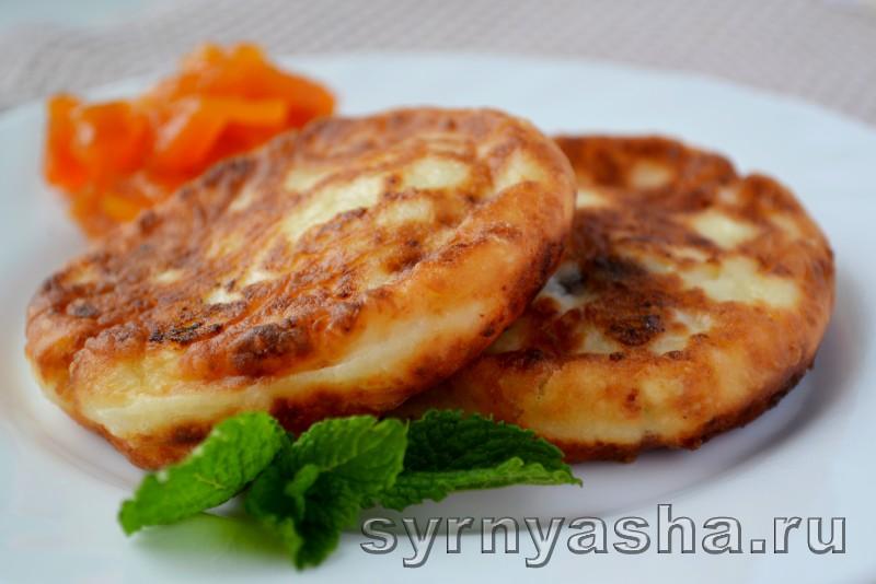 сырники на кефире с творогом рецепт