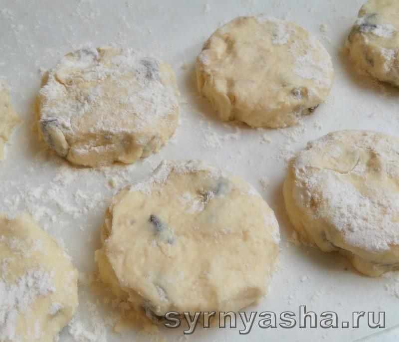 Сырники с черносливом: фото 6