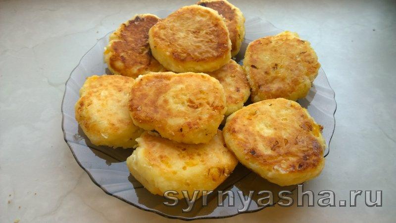 Сырники с мандаринами: фото 6