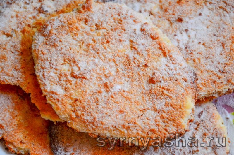 Сырники с овсяными хлопьями без муки в духовке: фото 10