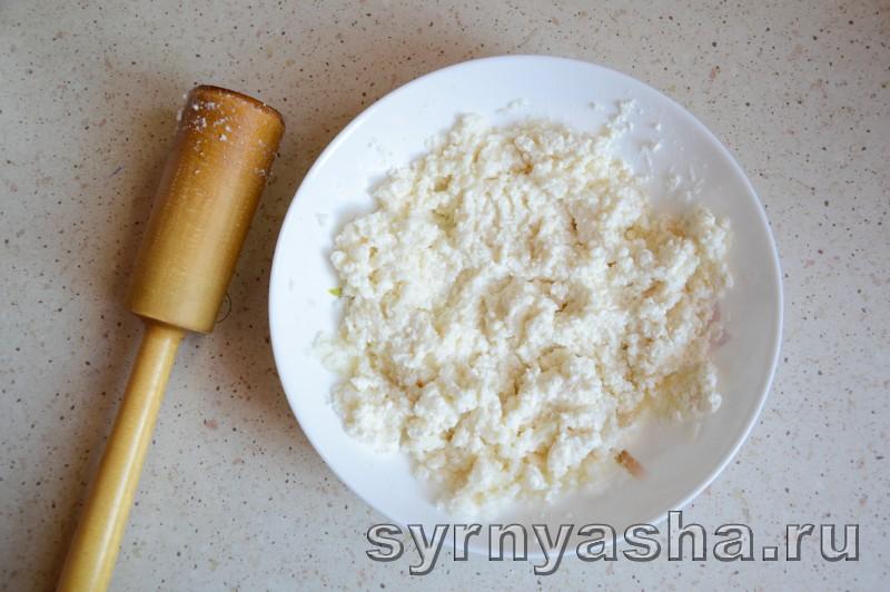 Сырники с овсяными хлопьями без муки в духовке: фото 2
