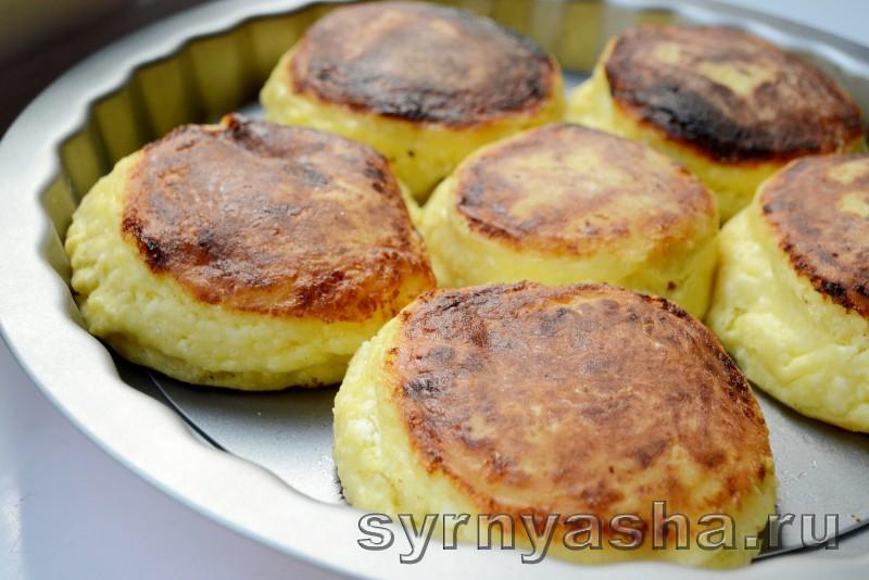 Сырники с персиковым сюрпризом в духовке: фото 10