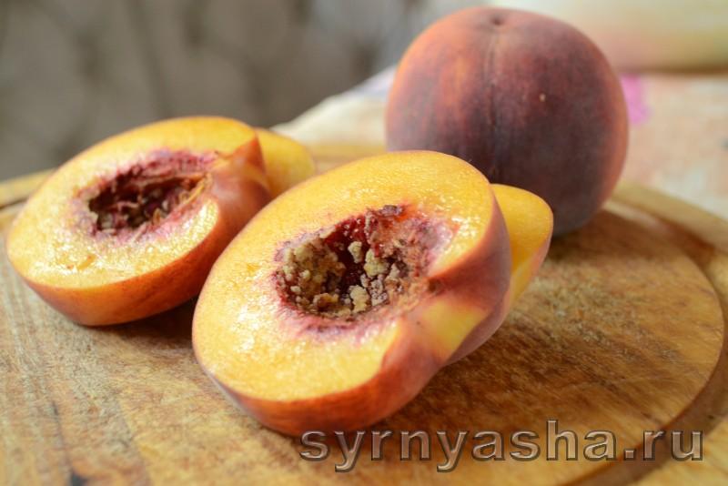 Сырники с персиковым сюрпризом в духовке: фото 5