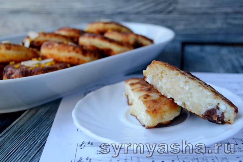 Сырники с рисом и изюмом: фото 7