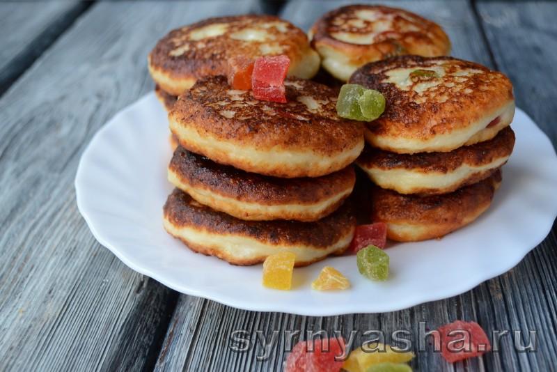 Сырники с цукатами: фото 7
