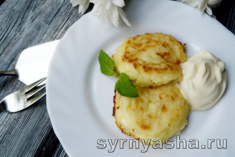 Сырники с творогом и рикоттой: фото 9