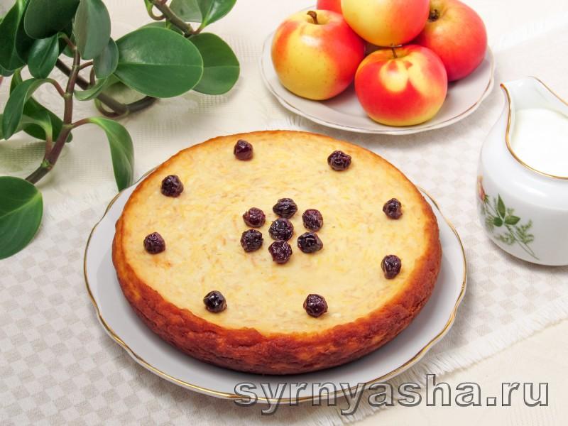 Творожная запеканка с тыквой и яблоками в мультиварке и духовке: фото 8