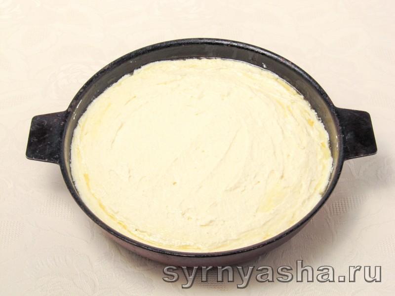 Творожная запеканка со сгущенкой в духовке с манкой: фото 5